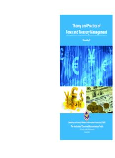 Theory and Practice of Forex and Treasury Management